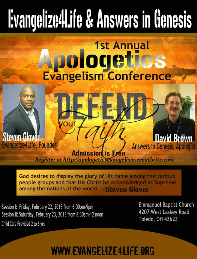 Please join us for our upcoming Evangelism Conference